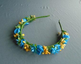 Ukrainian Wreath - Ukrainian folk Head Attire for Women, Girl (Vinok)