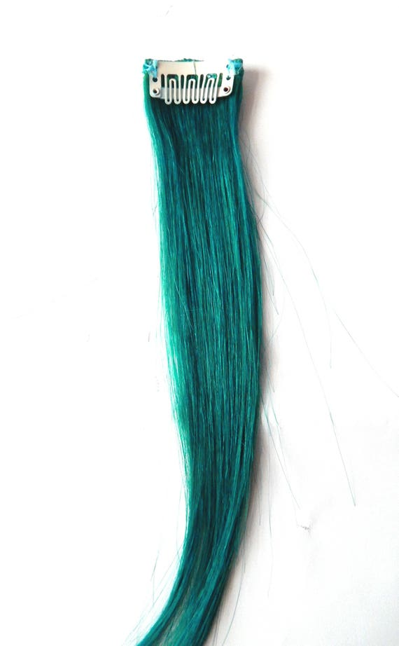 Emerald Green Jade Forest 100 Human Hair Extensions Double Etsy