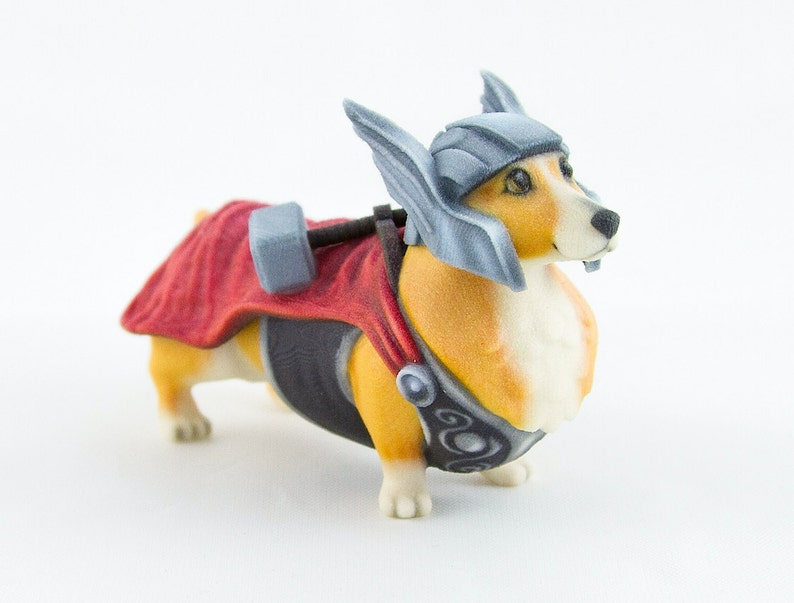 Thorgi The Corgi God Of Thunder image 0