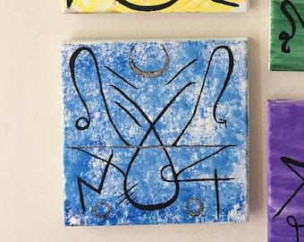 Throat Chakra Sigil Art / 5 of 6