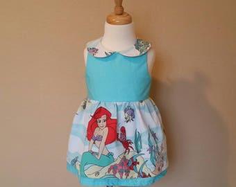 The Little Mermaid Dress. Ariel Dress. Girls ariel dress. Ariel party dress. Mermaid dress for girls. Mermaid dress for toddlers. Mermaid