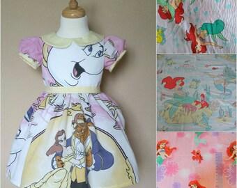 Little Mermaid Dress. Ariel Dress. Mermaid dress. Ariel party dress. Girls Mermaid dress. Toddler dress. Custom dress. Disneybound. Birthday