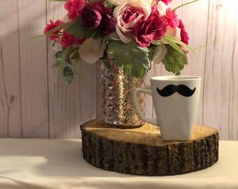 Mustache Ceramic Coffee Mug