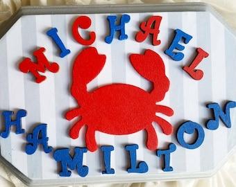 Children's Name Plaque