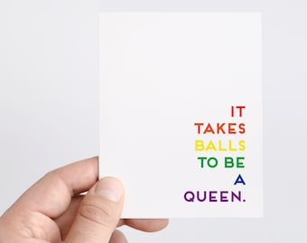 LGBT Card   LGBT Support   Same Sex   Coming Out Card   Gay Card   Lesbian Card   Rainbow   Pride Card   Gay Pride   Love Wins   Queer