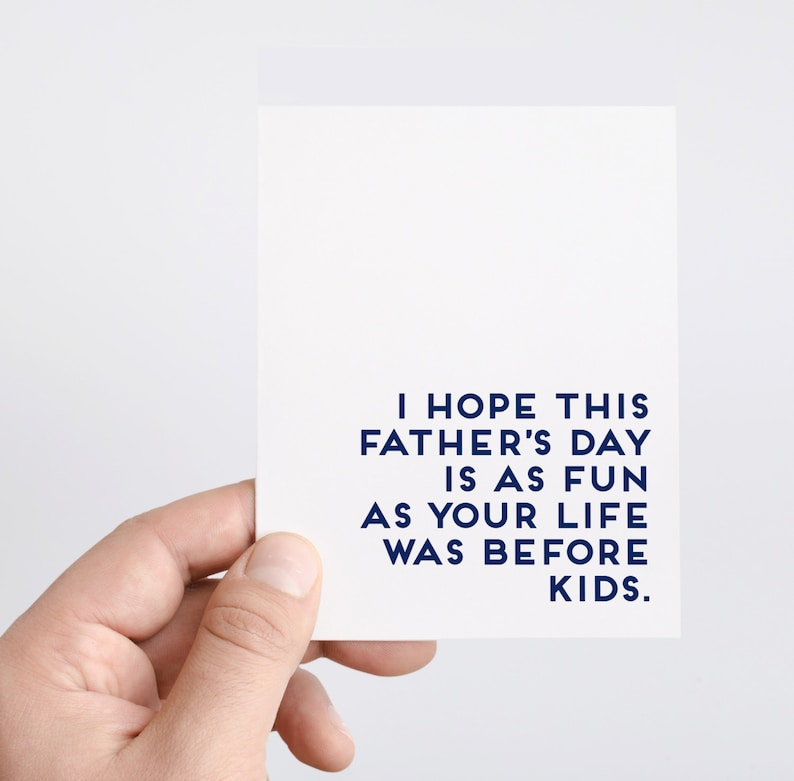Fathers Day Gift  First Fathers Day Card  Husband Fathers image 0