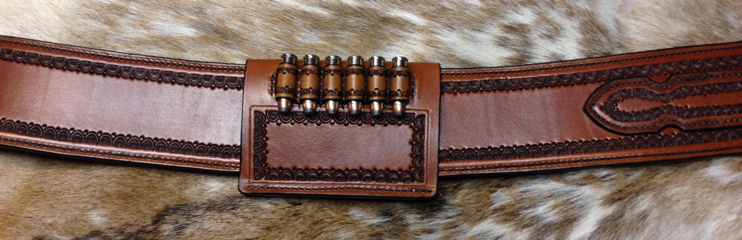 Holster and Gunbelt - Old West Style for Ruger Vaquero