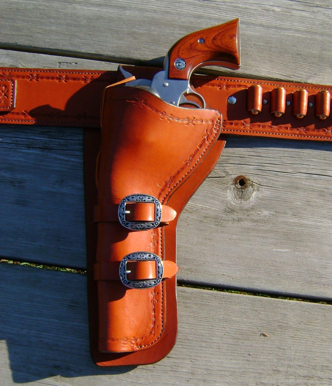 Holster and Gunbelt - Ruger Super Redhawk  454 Casull and