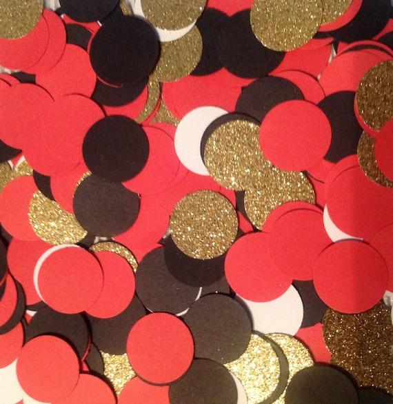 Confetti Red Black Gold 300 Pcs 49ers