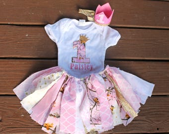 1st Birthday Outfit Girl