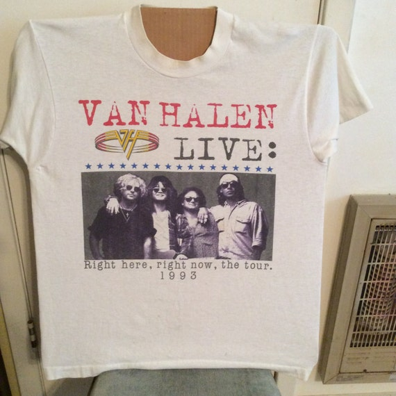 Vintage RARE 1993 Van Halen Concert Tshirt !!