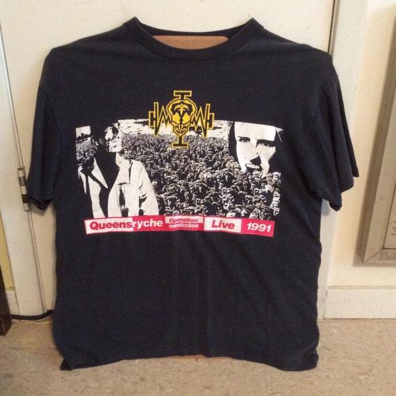 Vintage Queensrÿche 1991 Concert Tshirt !!