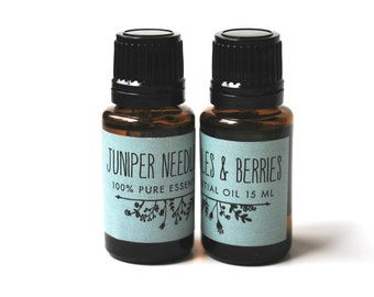 Juniper Needle And Berry Essential Oil (15ml)