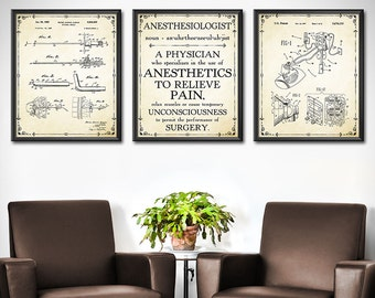 doctor office decor etsy