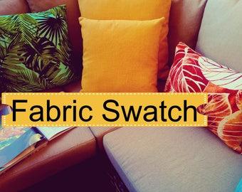 Fabric Swatch - Indoor Outdoor Pillow Cover,lumbar pillow cover,lumbar pillow set,fall pillow cover,pillow sets,toss pillows