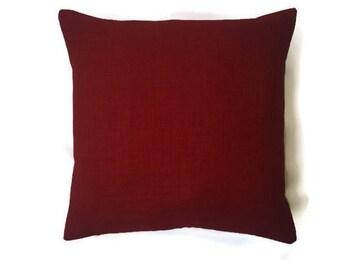 Outdoor decorative pillow cover,lumber pillow cover gold,lumbar pillow cover,pillow sets,back cushion,cherry color(outdoor solarium fabric)