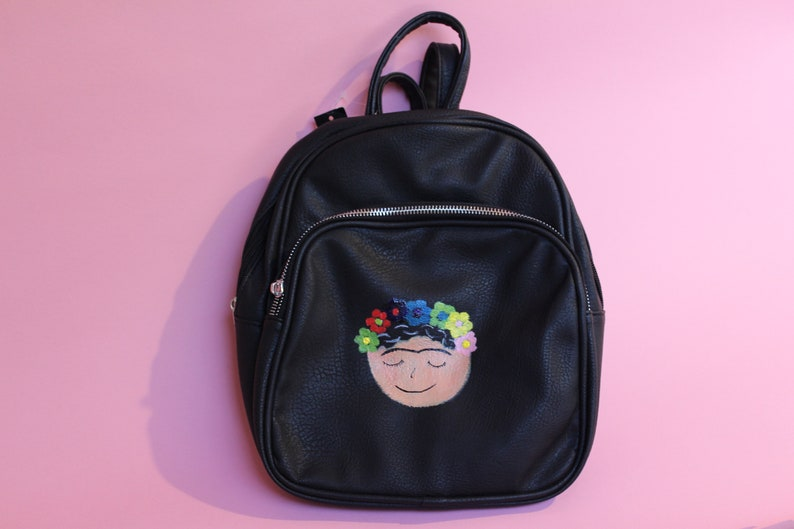 Hand Painted Frida Dead Stock NOBO Backpack