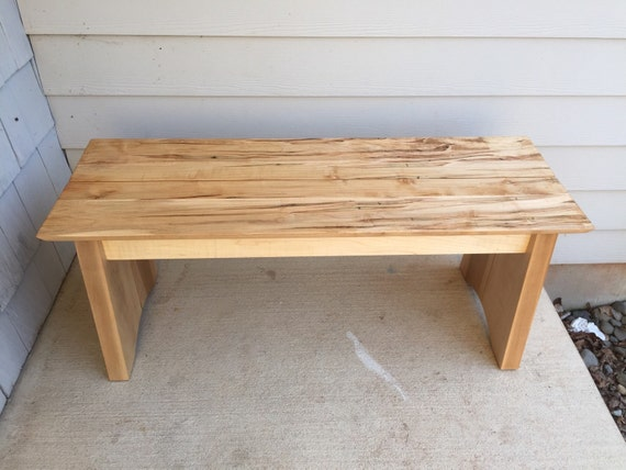 Ambrosia Maple Bench