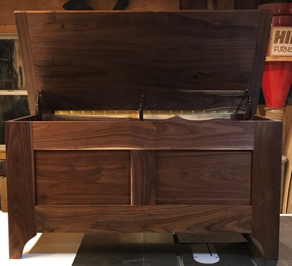 Walnut Blanket Hope Chest