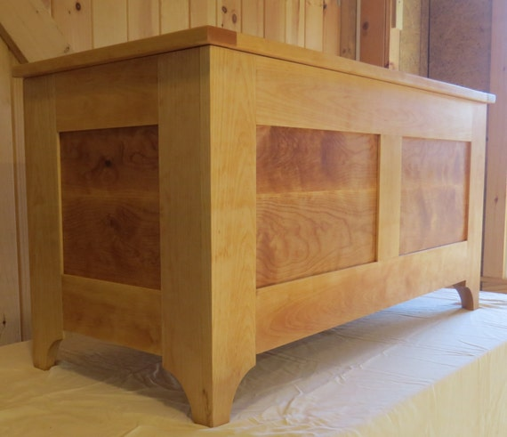 Wooden Blanket Hope Chest. Also great for toys!