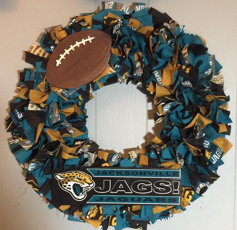 Jacksonville Jaguars wreath