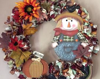 Fall wreath, Large Fall Wreath