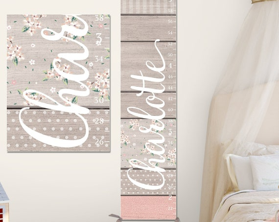 Farmhouse Canvas Growth Chart