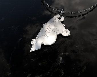 Koala Necklace koala bear charm koala bear necklace Koala Charm silver koala jewelry Koala Sterling Silver Necklace