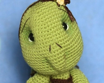 Elfin Thread - Turtle Crochet Amigurumi Pattern ( Turtle crochet PDF Pattern)