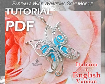 Tutorial Butterfly half-mobile Wire Wrapping - pdf - English Version