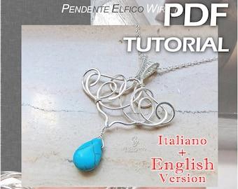 Tutorial Elvish Wire Pendant 1 - pdf - ENGLISH Version