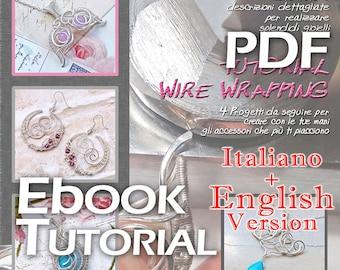 E-BOOK Tutorial Wire Wrapping 2 - pdf - Italian Version
