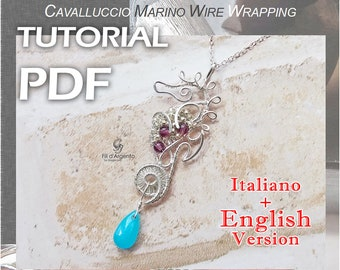 Tutorial Seahorse Wire Wrapping - pdf - English Version