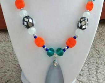 Tangerine Tango Necklace