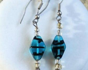 Turquoise Trance Earrings