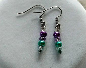 Pearl World Earrings