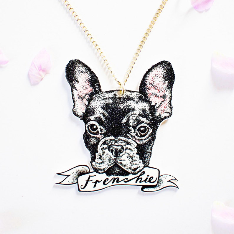 Personalised Pet Portrait Necklace image 0