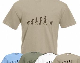 Evolution To French Bulldog t-shirt Funny Dog T-shirt sizes Sm To 2XXL