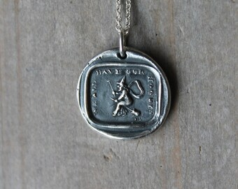 We all have our hobbys-Witch wax seal fine silver charm