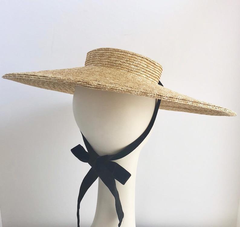 66f144d728dda New Orleans Straw Bergere Wide Brim Hat