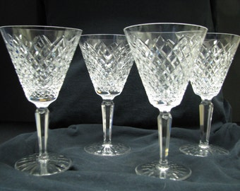 """Waterford Templemore 6 1/2"""" wine goblet several available"""