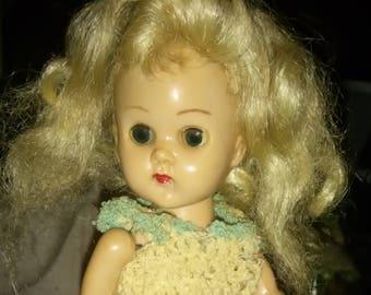 2 Vintage Ginny Walking dolls