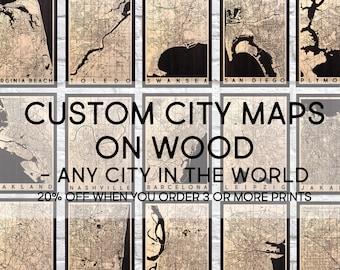 Gifts For Men Gifts For Him Wood Wall Art Mens Gift Boyfriend Birthday Gift For Him Wood Art Custom Map Gift For Men Panel Effect Wood Maps