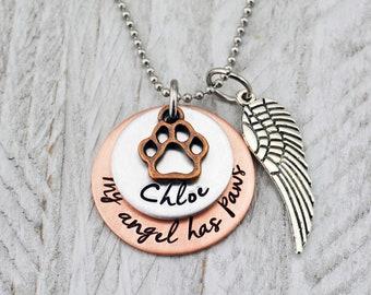 Pet Memorial Necklace - Pet Loss Gift - Pet Jewelry - Pet Memorial Jewelry - Dog Memorial Necklace - Cat Memorial Jewelry - Pet Loss Jewelry