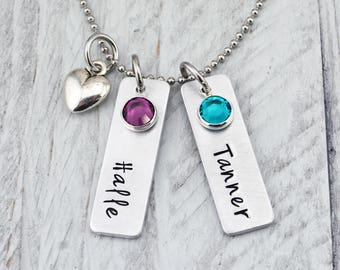 Personalized Necklace for Mom - Mom Necklace with Kids Names - Mother's Day Gift for Mom - Mothers Necklace for Women - Personalized Jewelry
