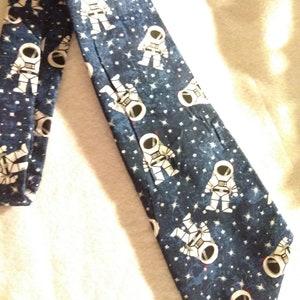 Stocking Stuffer Men/'s Necktie Prom Birthday Tie Solar System Anniversary Glitter Gift for him Planets Christmas Space Astronomy