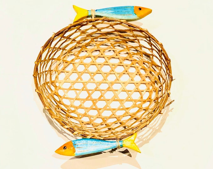 Unique Handmade baskets by Venezuelan artisans  inspired by the Caribbean  Sea