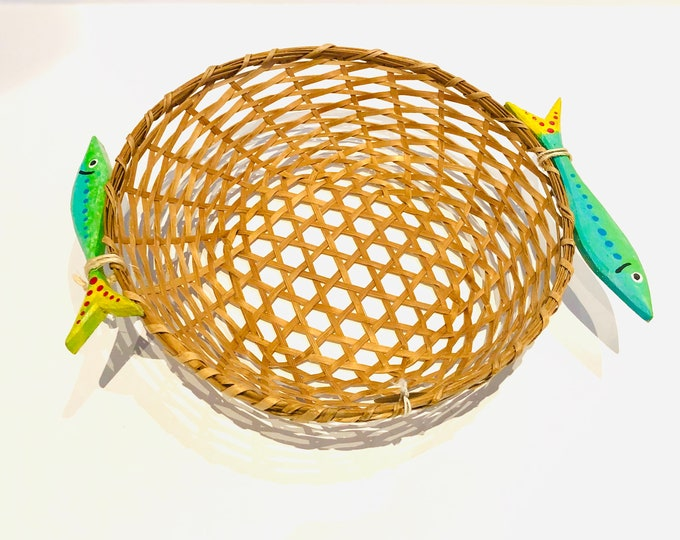 Unique Handmade  small  baskets by Venezuelan artisans  inspired by the Caribbean  Sea
