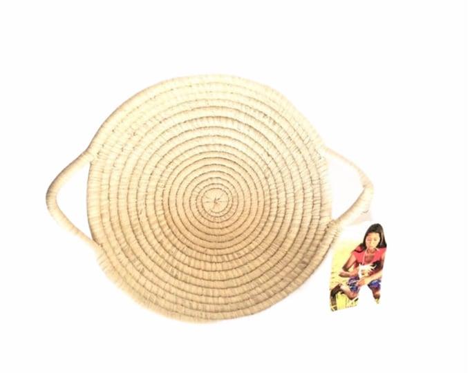 Desing- Warao Indian Baskets (Delta del Orinoco, Venezuela) Aprox 8.5 inches