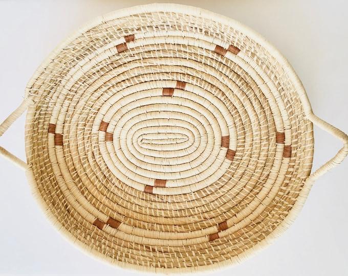 Big Oval Warao Indian Baskets  (Delta del Orinoco, Venezuela) Aprox 20 x 15 Inches